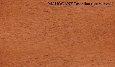 Mahogany Brazilian Quartered Wood Veneer