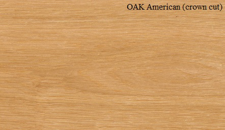 Oak American Crown Cut