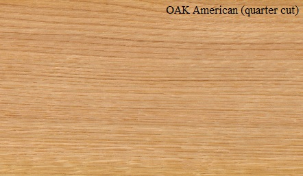 Oak American White Quartered Wood Veneer