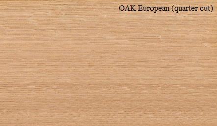 Oak European Quarter Cut Wood Veneer