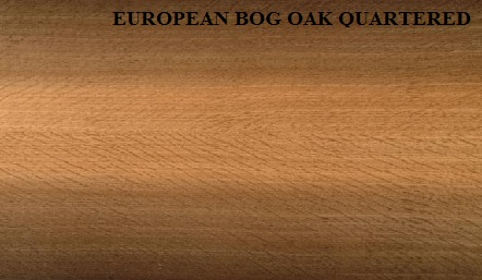 European Bog Oak Quartered Wood Veneer