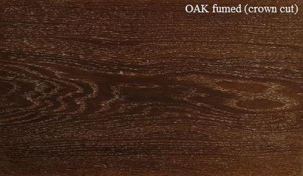 Fumed Oak Wood Veneer