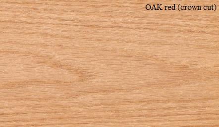 American Red Oak Wood Veneer