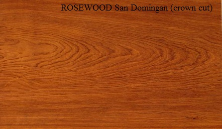 San Domingan Rosewood Wood Veneer