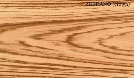Zebrano Wood Veneer